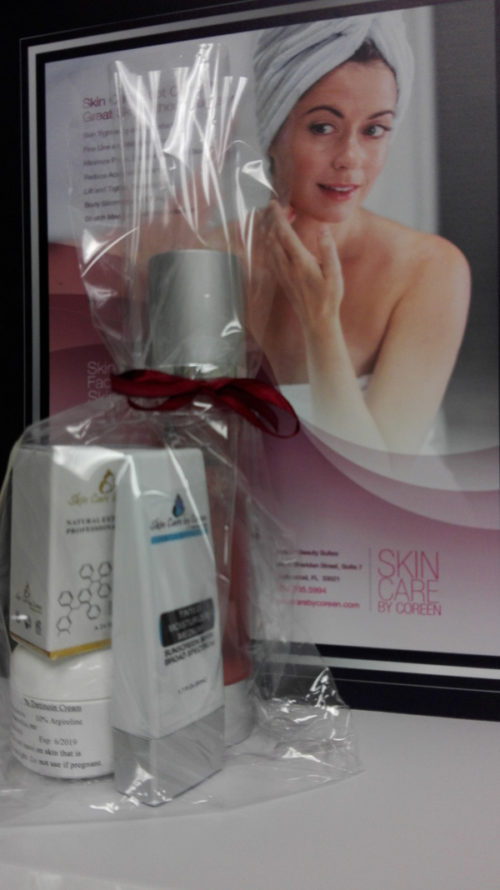 Skin Tightening products and treatment package